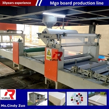 New Condition and Automatic Automatic Grade mgo gypsum board production line/mgo decoration board equipment and machine line