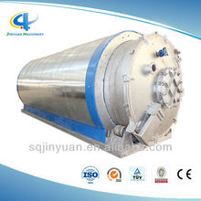 Pollution Free Energy Saving 20% Waste Tires Recycling Pyrolysis Machine with Oil or Gas Burning Room