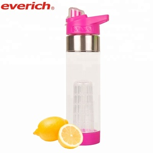 New Products Private Label Juice Plastic Bottle Travel Water Bottle