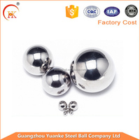 Top quality 1 inch stainless steel ball for bearing