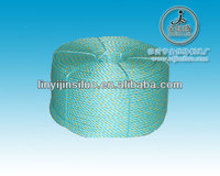 green 3 strands sea farming pp rope manufacturers in China