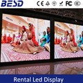 Multi Function Rental P3.9 Indoor led Screen display DJ show/event/wedding,die-casting cabinet indoor rental led display P3.91