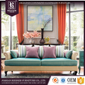 Bright colored sofa set / home european fine furniture /elegant living room furniture sets