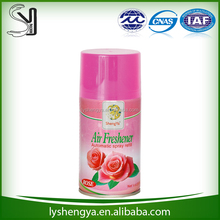 water base,rose scented Air Freshener automatic spray refill