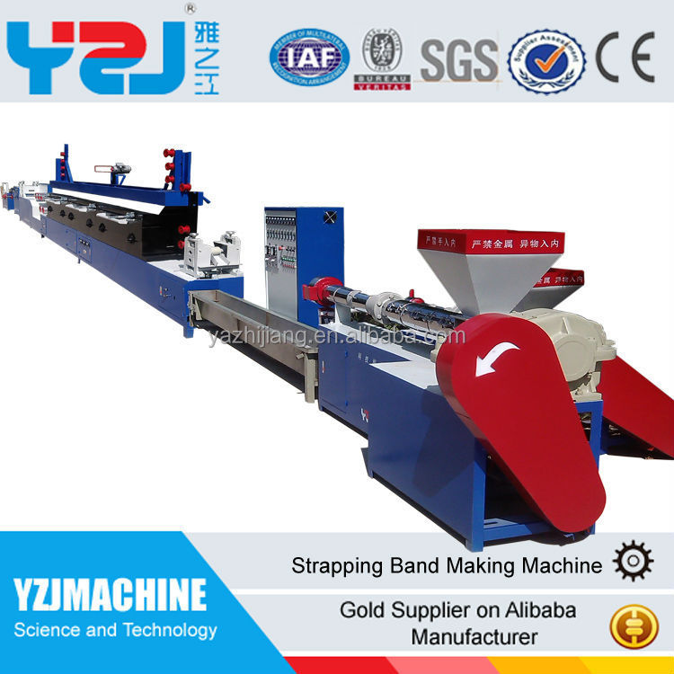 China supplier pet strapping bands producing line pet straps production line pet belt machine