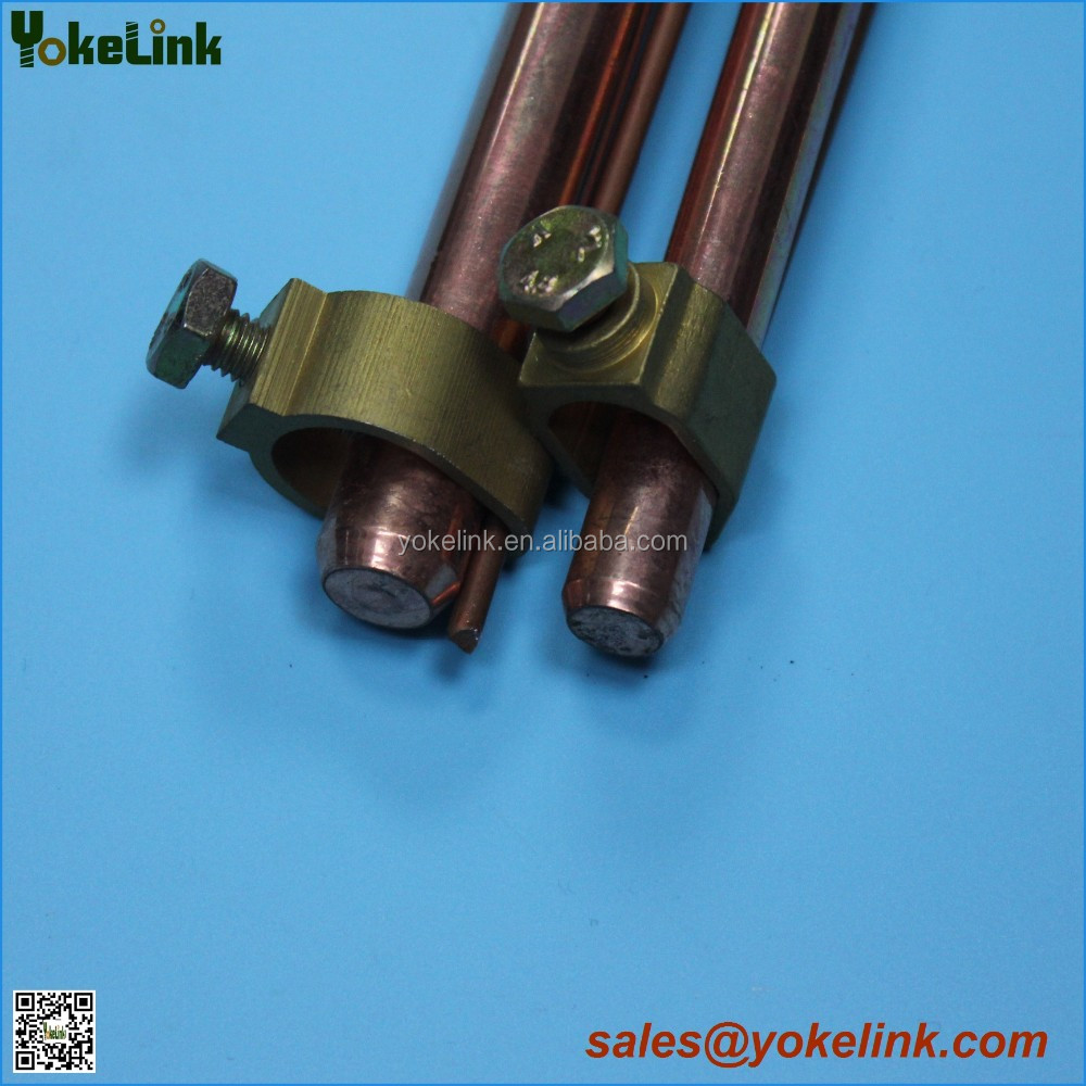 "5/8"" 3/4"" Copper Bonded Earthing Grounding Rod"