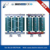 Low noise 630KVA cast resin electric voltage transformer 13.8KV series