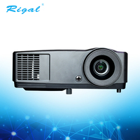 2017 Hottest low price home theater dlp led 4k full hd 3000 lumens film holl projector