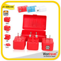 Wontravel China JY-006 3g universal travel charger