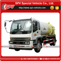 Chinese Manufacture 10000 Litres Sewage Vacuum Truck