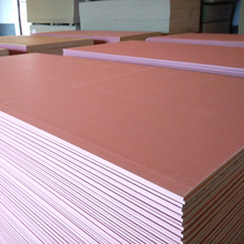 Fireproof 13mm gypsum board drywall