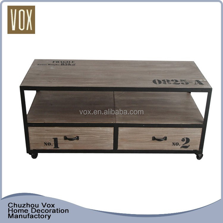 New Style Wooden Furniture led tv stand tv table