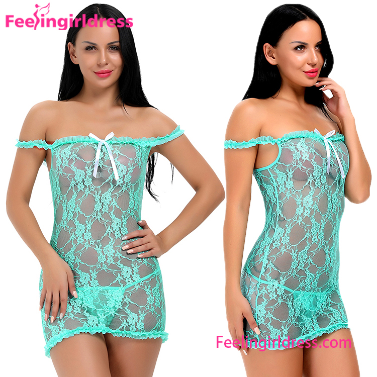 USA Warehouse Delivery China Manufacturer Custom Woman Lace Sexy Babydoll Lingerie