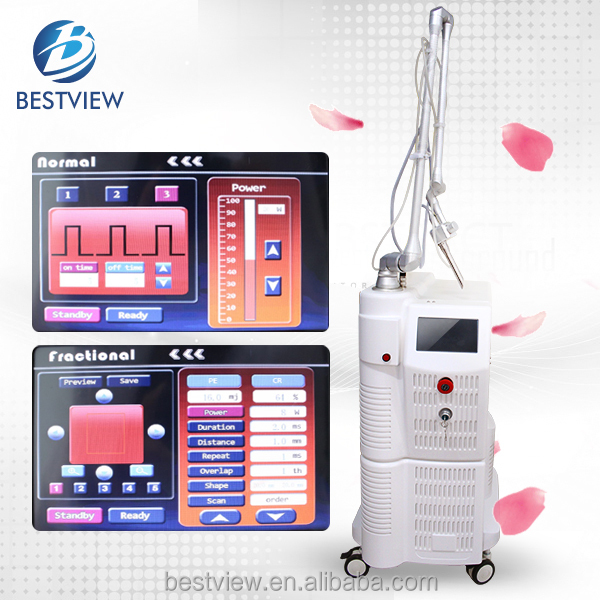 2016 Clinic Equipment 10600nm 60W Metal Tube Co2 Fractional Laser Beauty for Vaginal Tightening
