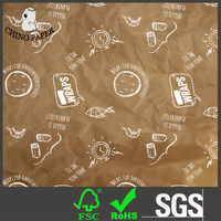 35g Greaseproof Printed tissue paper for sandwish