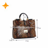 new fashion cowhide leather satchel bag