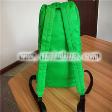 2015 latest leisure school backpack, canvas kids children backapck for boys and girls