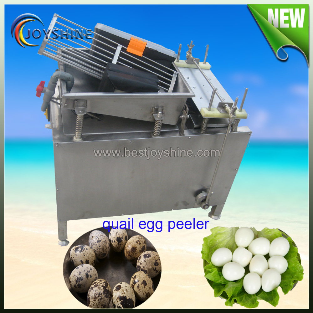 China made good quality boiled quail eggs peeling machine/quail eggs peeler machine