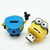 Custom bottle soft rubber USB flash drive memory stick 3D shape PCV USB Pen drive 4gb 8gb 16gb 32gb