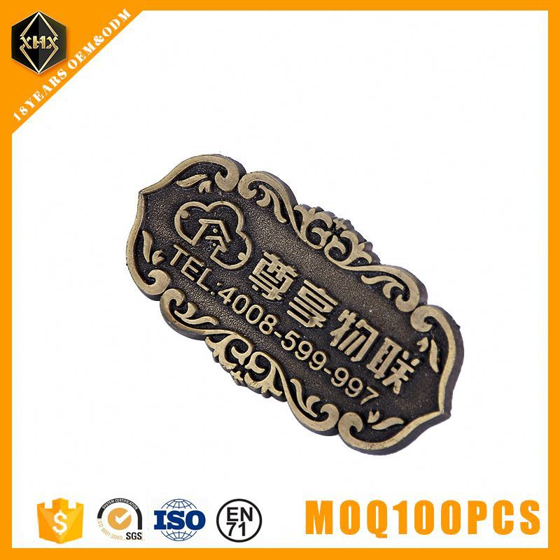 New design stainless steel bag making accessories printable higgs h4 uhf on metal label