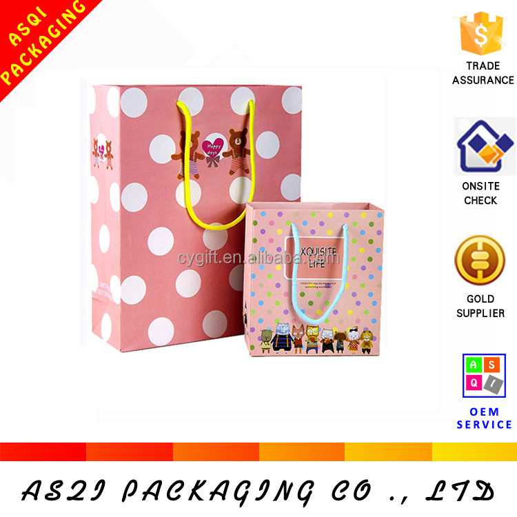 alibaba china retai popular shopping paper bag optical design