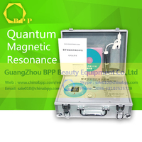 Test machine portable quantum therapy analyzer for body health analysis