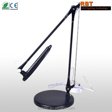 10W Aluminum 5-Level Dimmer Executive Full Spectrum LED Desk Lamp Touch Dimming Desk Lamp Led