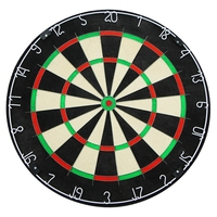 Pass the BSCI certification factory 2019 most popular African sisal blade wire dartboard, custom printing dart board