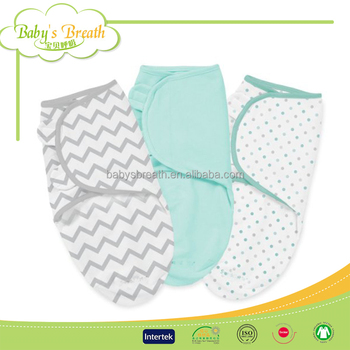 BSB1398A eco-friendly high quality swaddle cotton designs baby toddler sleep sack