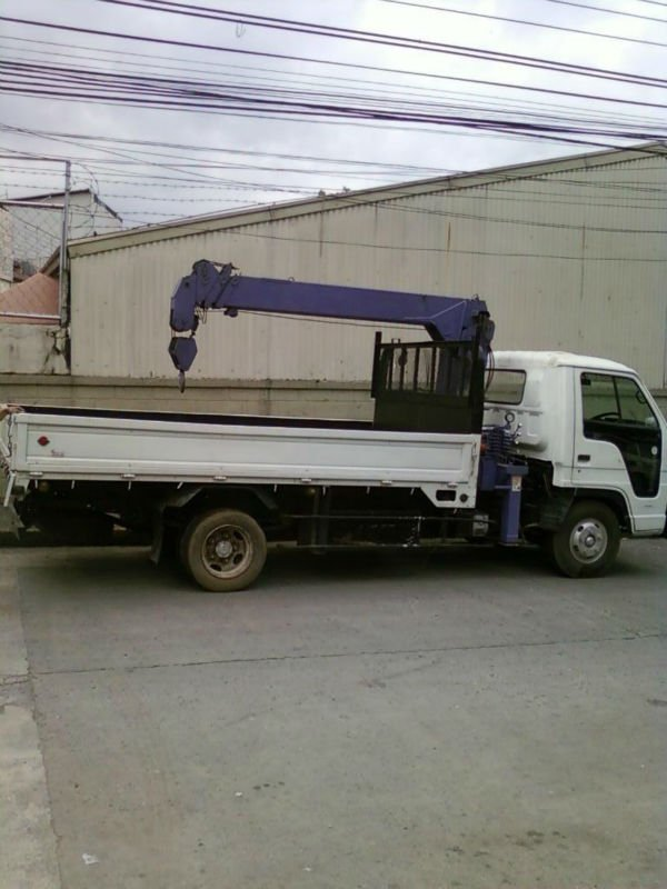 trucks for sale isuzu NPr Boom Truck