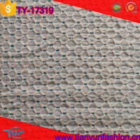 breathable woven designer raw material hundred cotton lace embroidery fabric