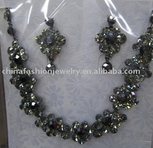shiny exquisite charming jewelry set