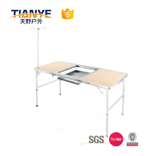 Tianye outdoor furniture design camping table with sink high quality competitive product
