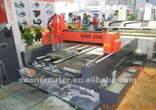 heavy stone engraving machine CXSX9020 on 20th Shanghai Int'l Ad & Sign Technology & Equipment Exhibition in 2012