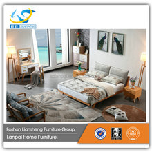 Wooden bed frames queen double bed price guangzhou bedroom furniture