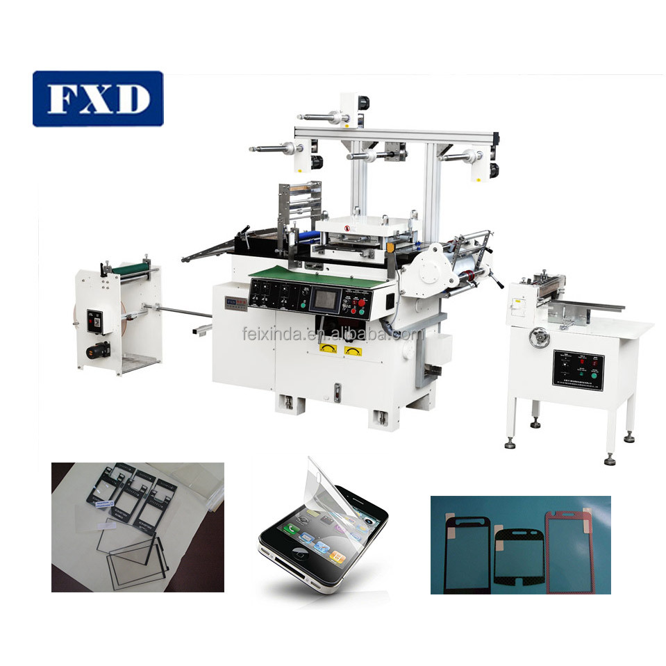 Adhesive Sticker One Station Die Cutting Machine