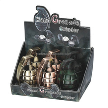 Colorful Grenade Design Smoking Metal Grinders for Sale