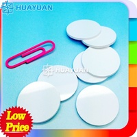MIFARE Classic 1K RFID PVC disk disc tag with 3m adhesive glue