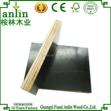 Professional 18mm Brown Exterior Melamine Plywood Film Faced
