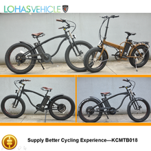 Lohas Vehicle 48v 500w electric bicycle beach cruiser any color available (KCMTB018)