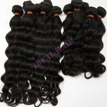 natural raw virgin human peruvian remy hair weave on hot sale
