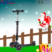 Best sale mini three wheel cheap kids kick scooter for 2016 christmas gift