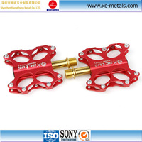Shenzhen factory MTB Bicycle Flat-Platform Red Bike Pedals