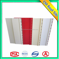 Environment Friendly Pvc Colorful Plastic Wall Exterior Panel