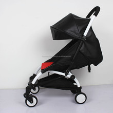 175 degreeHot selling in Russia Ukraine yoya leather hood cushion with ears Baby Strollers/ Baby Prams