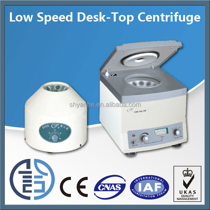 Desktop 6 bucket tubular centrifuge
