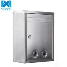 Wholesale Stainless Steel Wall Mounted Mailbox Lockable Letterbox Post Box