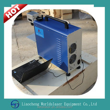 fiber laser marking machine for Copper mooring cutting/Mobile phone charger/Safety lock