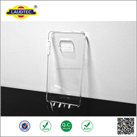 CRYSTAL CLEAR HARD BACK CASE COVER FOR SAMSUNG GALAXY NOTE 5 & SCREEN PROTECTOR
