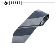 plain price print stripe necktie for company staff
